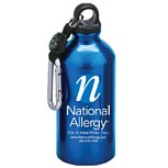 National Allergy Aluminum Sports Bottle