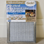 Allergy-Free Aller-Pure Gold Permanent Furnace Filters