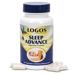 Logos Nutritionals Sleep Advance Natural Supplement