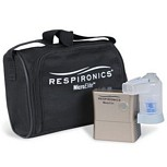 Respironics MicroElite Portable Compressor Nebulizer - Battery Still Available Below