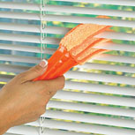 MicroFiber Mini Blinds Duster from National Allergy - Click to Learn More