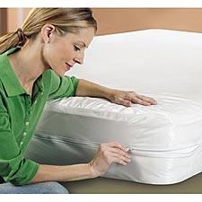BedCare Zippered Vinyl Mattress Cover/Box Spring Cover