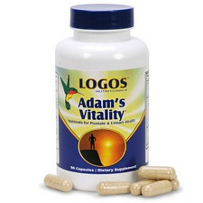 Logos Nutritionals Essential Adam's Vitality Natural Prostate Health Supplement