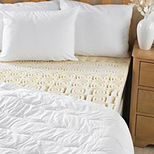 Beyond Perfect 7-Zone Memory Foam MattressTopper