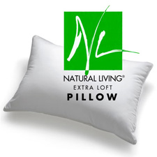 Natural Living® Extra Loft Down Alternative Pillow With Ingeo™ Fibers