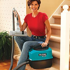 Nilfisk Family Vac True HEPA Vacuum Cleaner