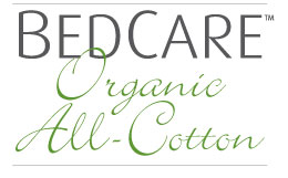 BedCare Organic All-Cotton Allergy Mattress Covers