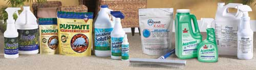 Carpet Treatments for Dust Mites