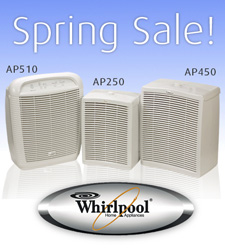 Whirlpool Air Purifier Sale - Extended Through May 31, 2007