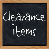 Items On Clearance