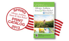 Request a free copy of the National Allergy Catalog