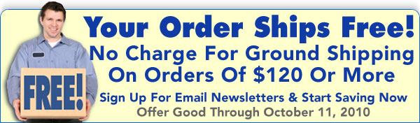News For A Healthier You Newsletter - September 2010 - Receive FREE Ground Shipping With Orders Of $120 Or More - Offer Expires 10-11-2010 - Click To Subscribe To Our Free Email Newsletters