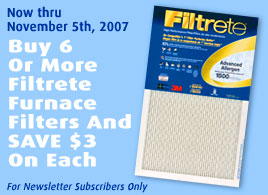 Receive An Extra $1 Off Each Filter When You Buy 6 Or More