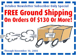 FREE Ground Shipping On Orders Of $130 Or More