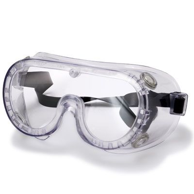 non vented clear safety goggles uv safety goggles