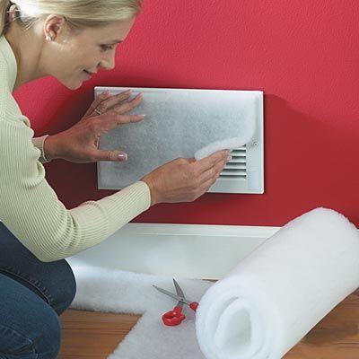 AllerTech® VentGuard Vent Filtration Kit - 20 Vent Filters Per Roll