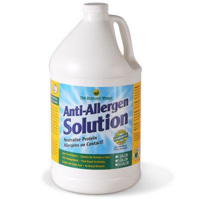 Anti-Allergen Solution Refill Gallon Bottle