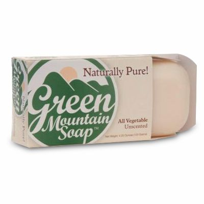 Green Mountain Vegetarian Formula Soap 4.25-oz Bar