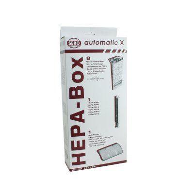 SEBO HEPA X-Series Service Box (5827ER)
