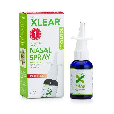 Xlear Sinus Care Spray 1.5-oz Metered Dose Bottle