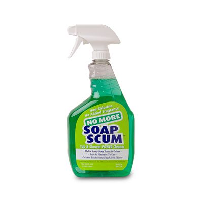 AllerTech® No More Soap Scum Power Cleaner 32-oz Spray Bottle