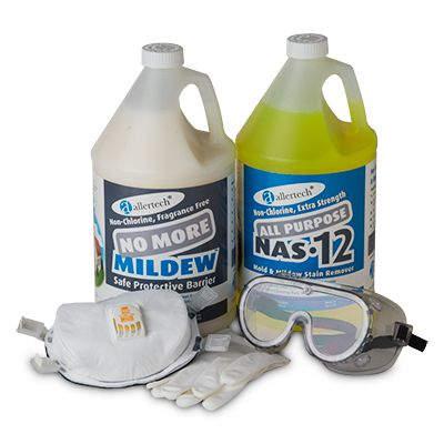 AllerTech® Mold Remediation Kit with Glove Size (M/L)