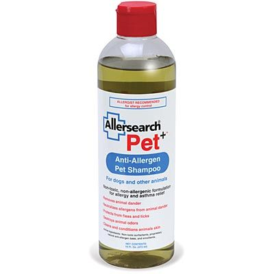 Allersearch Pet+ Anti-Allergen Shampoo 16-oz Bottle