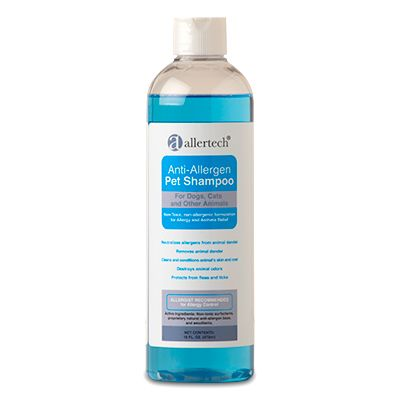 AllerTech® Anti-Allergen Pet Shampoo 16-oz Bottle