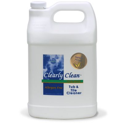 Clearly Clean Tub & Tile Cleaner 128-oz Refill
