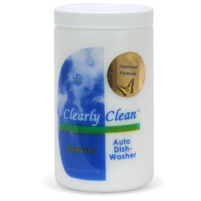 Clearly Clean Auto Dishwasher Detergent 32-oz Jar
