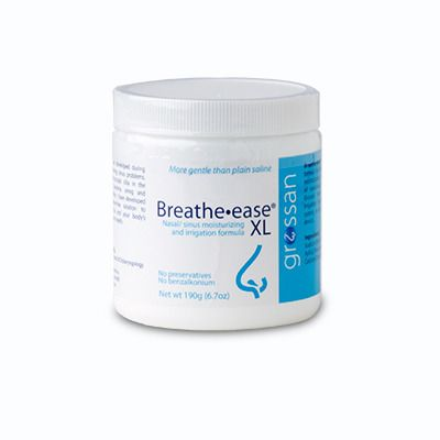 Breathe-Ease XL Saline Powder 190 Grams