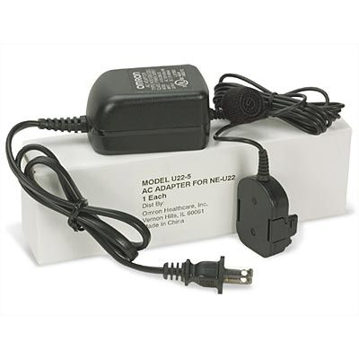 Optional AC Adapter for MicroAir NE-U22V Nebulizer