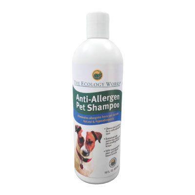 Anti-Allergen Pet Shampoo 16-oz Bottle