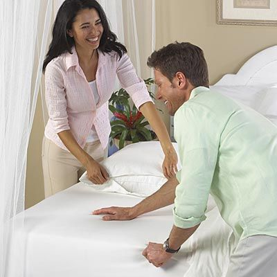 BedCare™ Classic Fitted Allergy Travel Mattress Covers