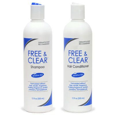 Free & Clear Shampoo and Conditioner Pack 12-oz Bottles