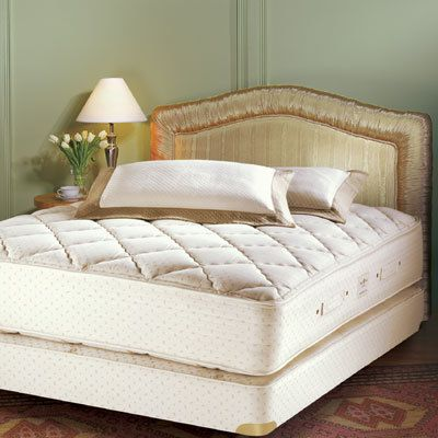 Royal-Pedic Cotton Quilt-Top Mattress & Box Spring Sets